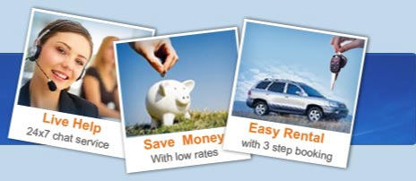 Live help, Save money, Easy rental